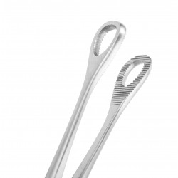 Kleště na piercing úst oválné WILLIAM 8 x 12 mm zavírací