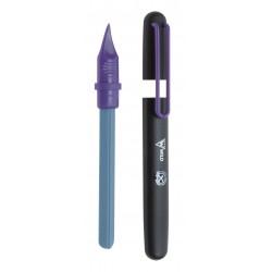 Keramický pilník na nehty v ochranném pouzdru v různých barvách