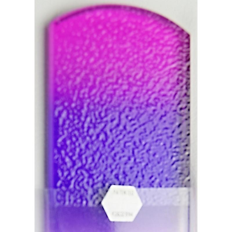 Blažek GLASS oboustranný velký skleněný pilník barevný