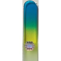 Blažek GLASS pilník na manikúru skleněný barevný dlouhý