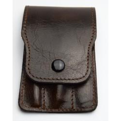 HEIKO WILD Cestovní pánská manikúra s nerez nástroji v koženém pouzdře