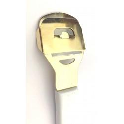 HEIKO WILD Hoblík seřezávač na pedikúru s plastovou rukojetí a zlatou hlavou