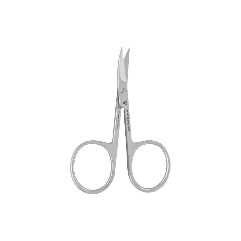 Nůžky na nehty, zahnuté, délka 90 mm, ostří mikro-ozubení
