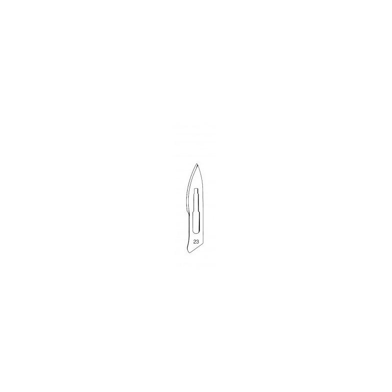 "Skalpelová čepelka ""Fig.22"", 100ks"